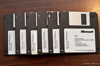 40/365 - 02/09/11 - Windows 3.1 Floppy Disk