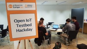 Open IoT Testbed Hackday at EclipseCon Europe