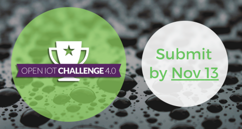 Submit by Nov. 13 for the IoT Challenge