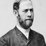 A portrait of Heinrich Rudolf Hertz